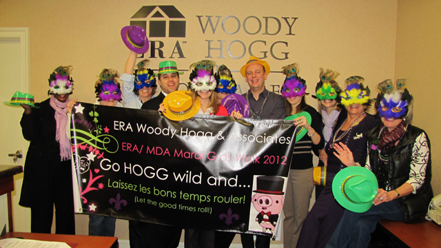 ERA Woody Hogg & Associates participating in the ERA/MDA Mardi Gras Walk 2012