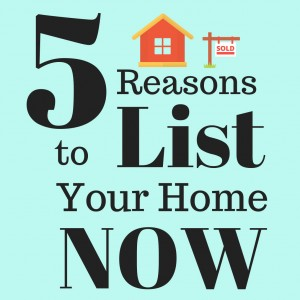 5 Reasons to List Now insta